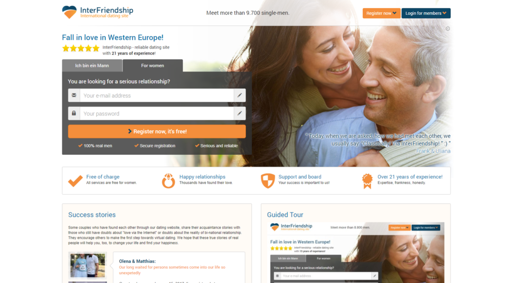 rated international dating sites